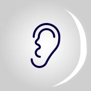 icone d'une oreille
